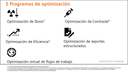 5 Programas de optimización