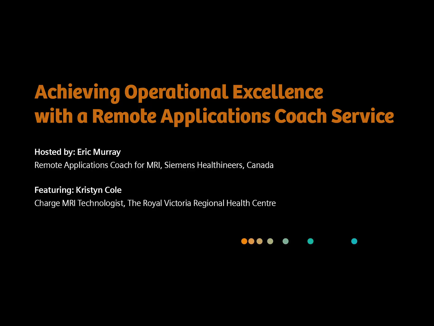 Podcast: Achieving Operational Excellence with a Remote Applications Coach service