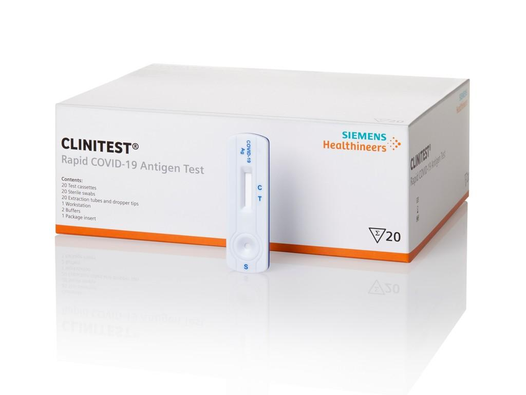 Siemens Healthineers introduceert CLINITEST Rapid COVID-19 Antigen Test