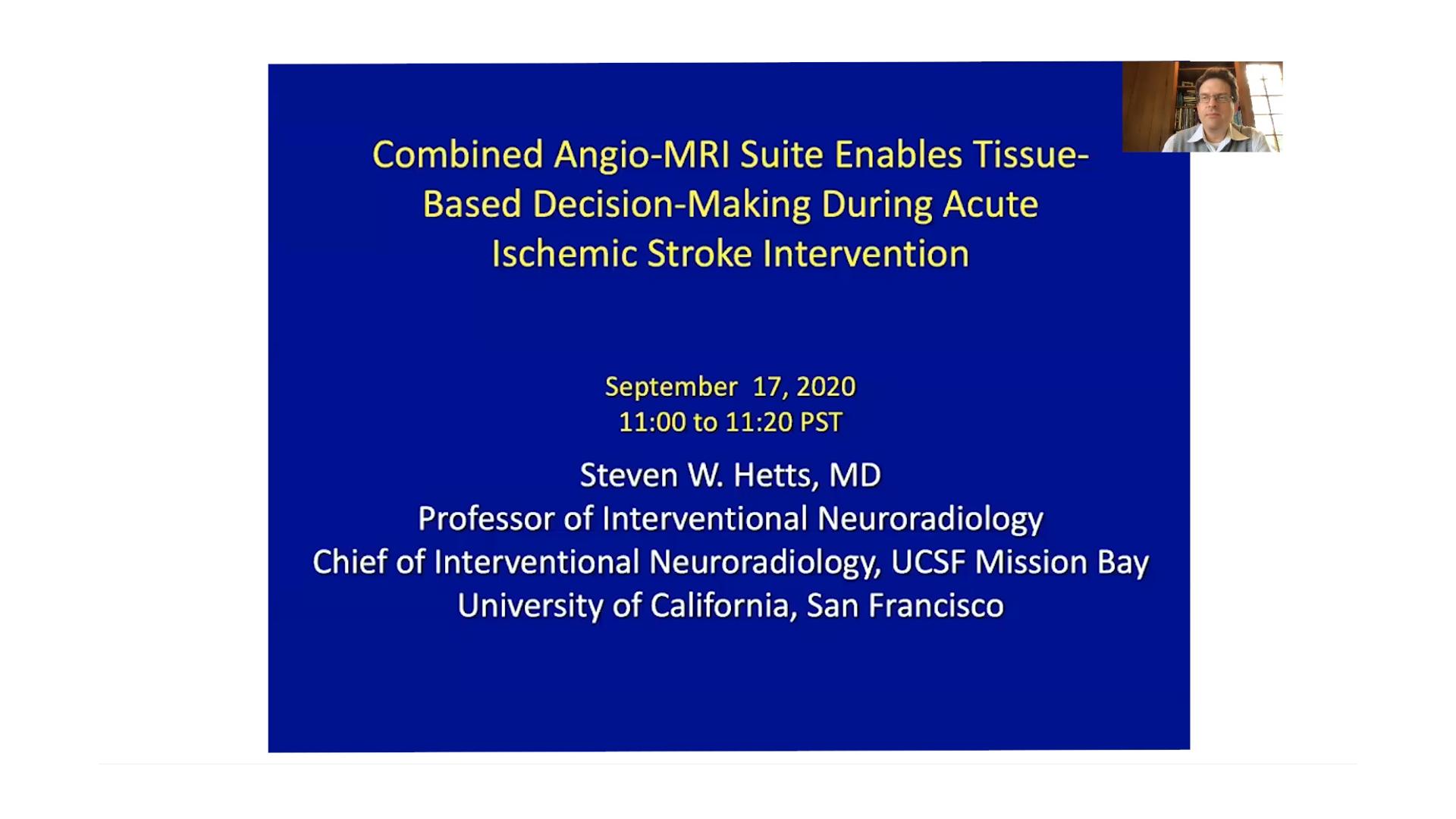 Preview Clinical Talk Steven W. Hetts