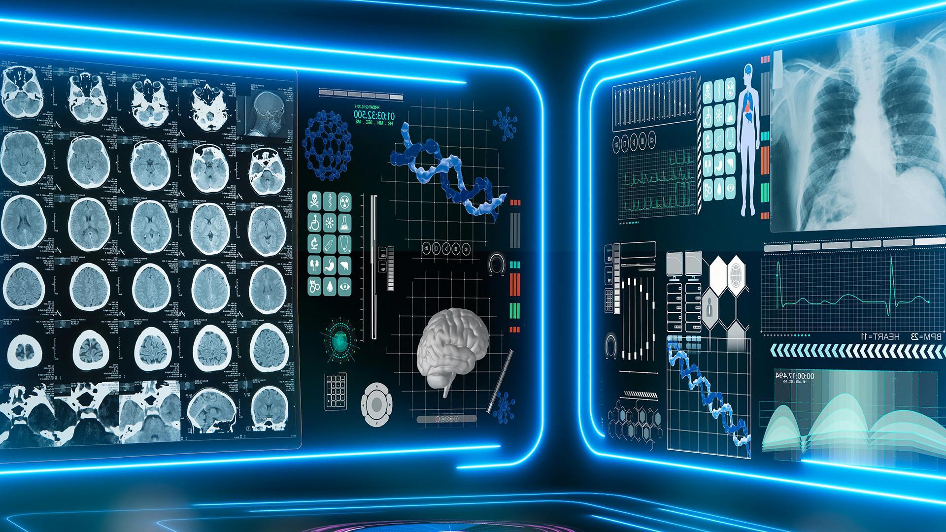 Künstliche Intelligenz unterstützt Ärzte bei Diagnose und Therapie.
