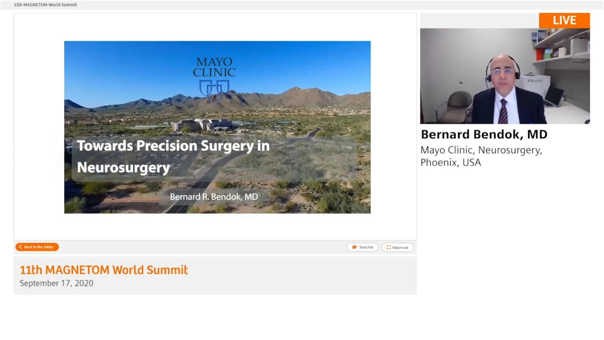 Preview Clinical Talk Bernard Bendok