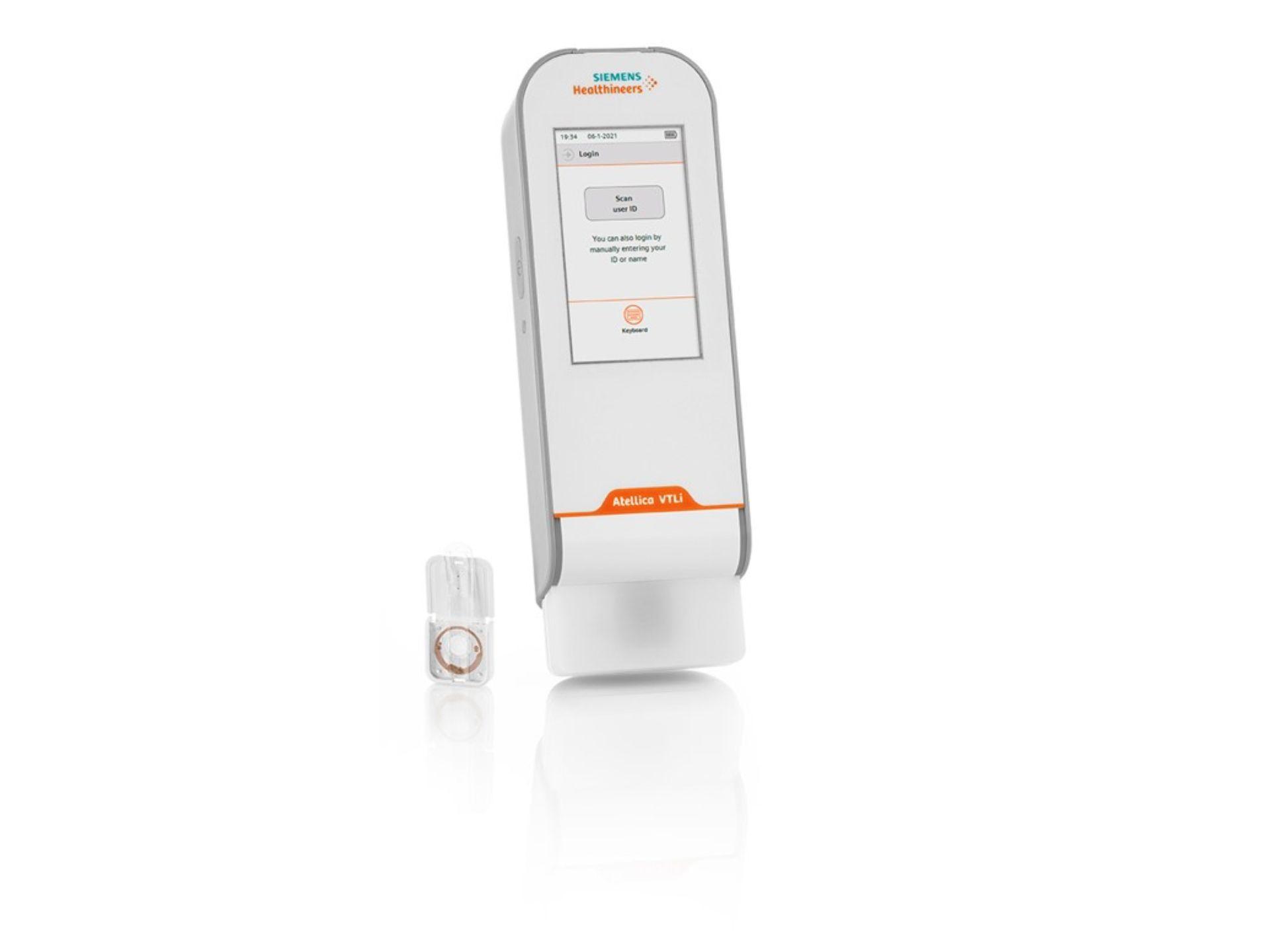 Beschleunigung der Herzinfarkt-Diagnose mit Atellica VTLi Patient-Side Analyzer für das branchenweit erste hochempfindliche Fingerstick-Troponin I am Point-of-Care
