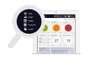 Powerful tools in a single dashboard
