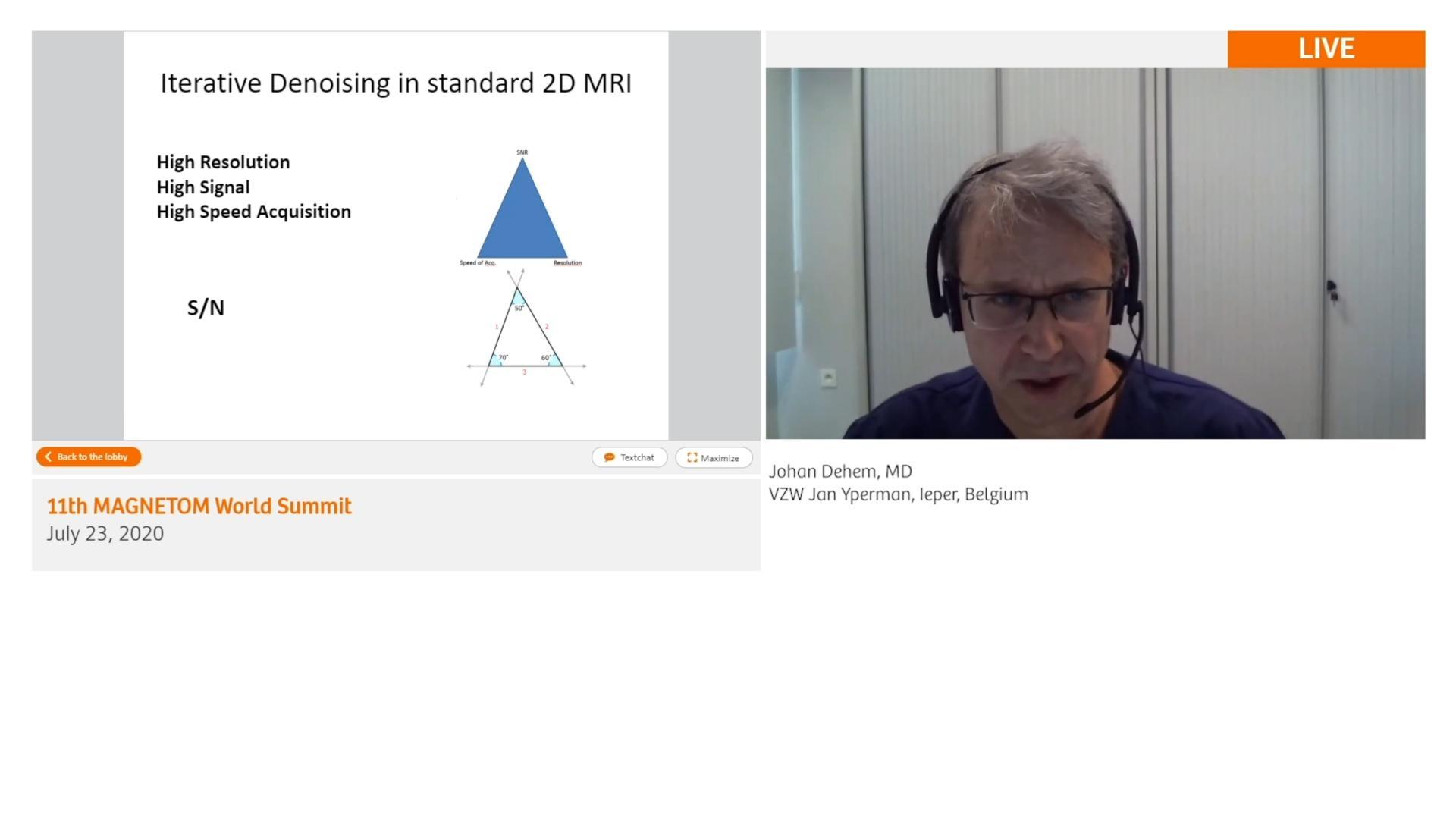 Preview Clinical Talk Johan Dehem