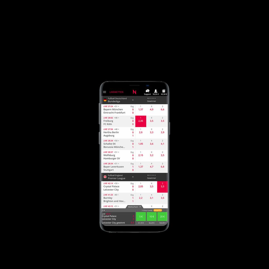 Android App Mobile Sportwetten Apps Neo Bet