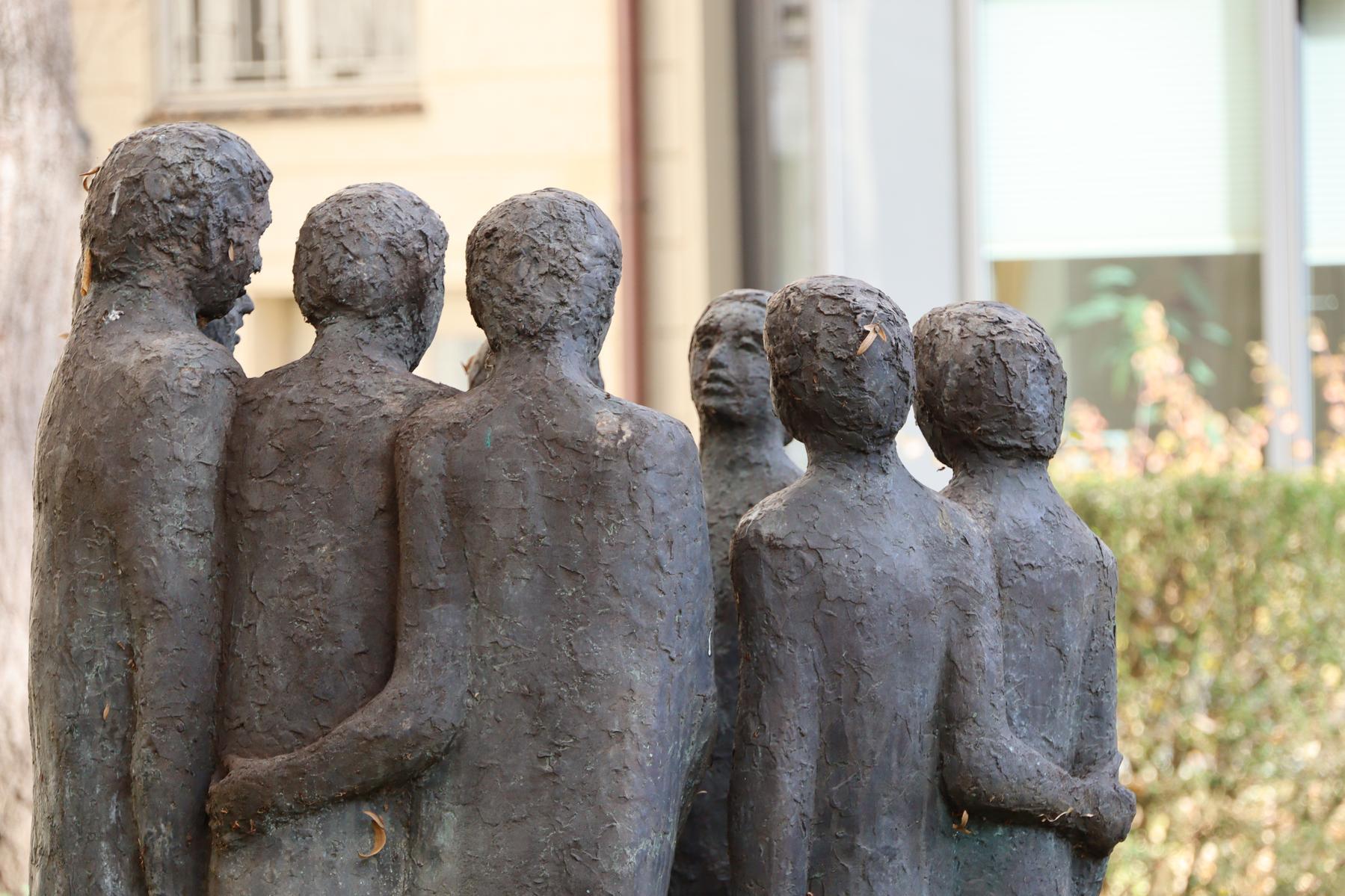 Skulptur Garten Psychiatrie