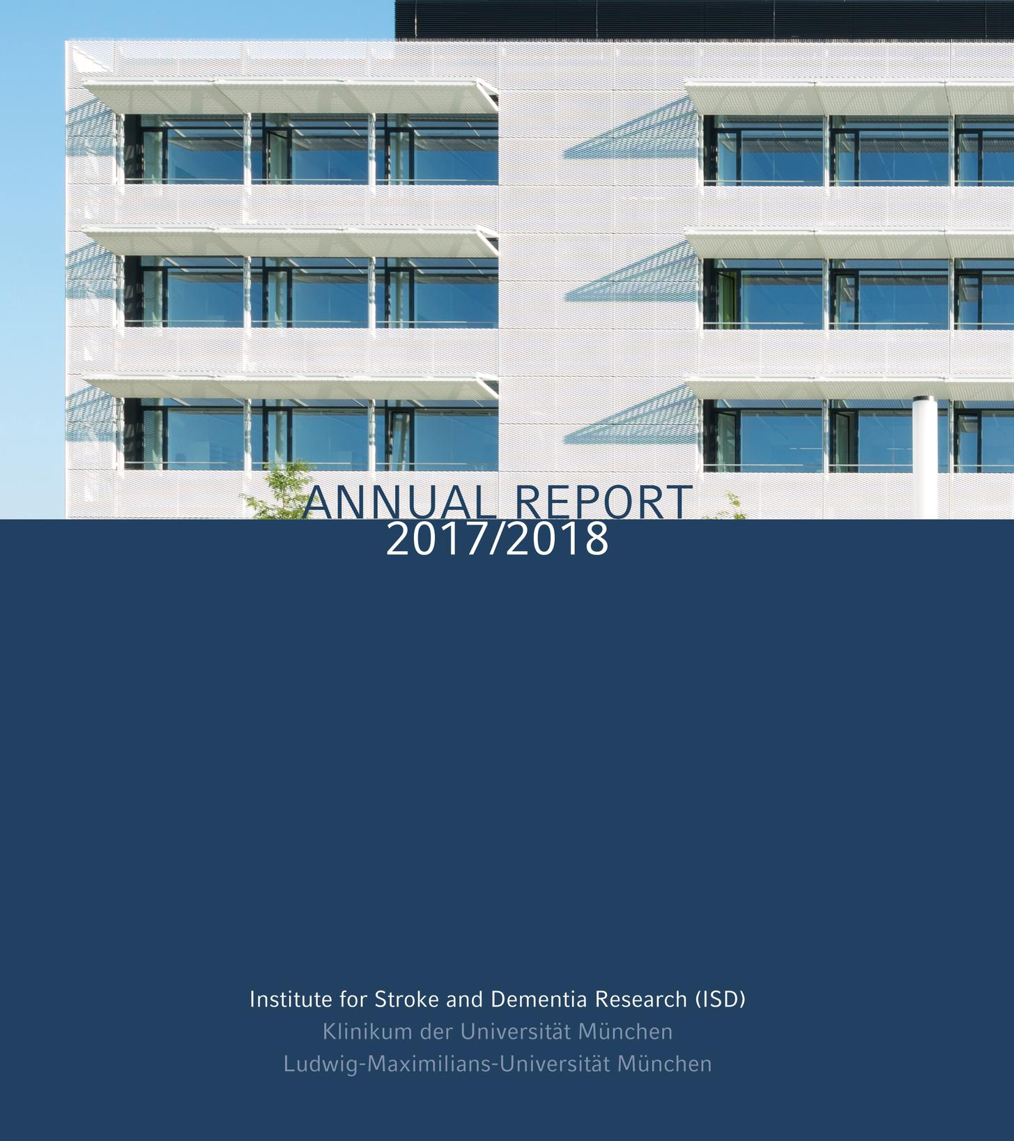 ISD Annual Report Cover