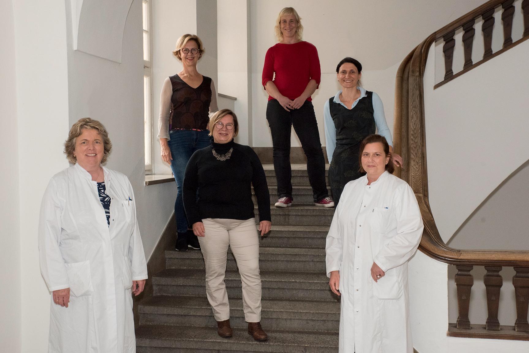 Gruppenaufnahme Studienzentrale Brustzentrum