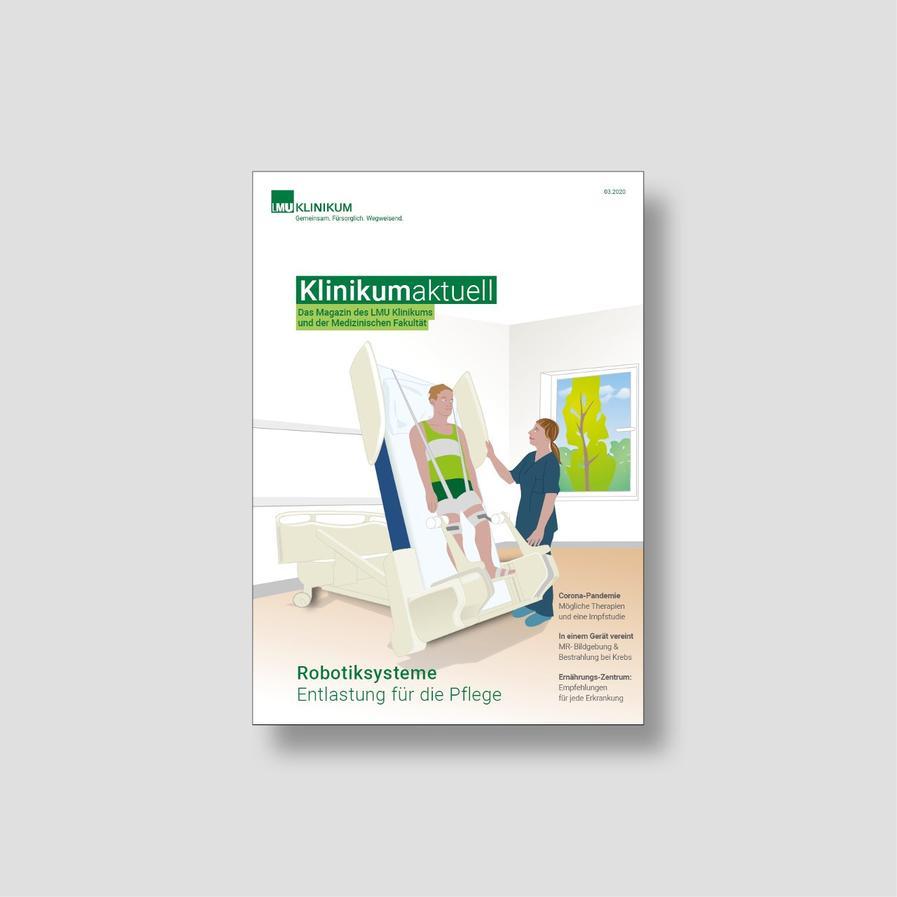 Titelseite Klinikum aktuell 3/2020