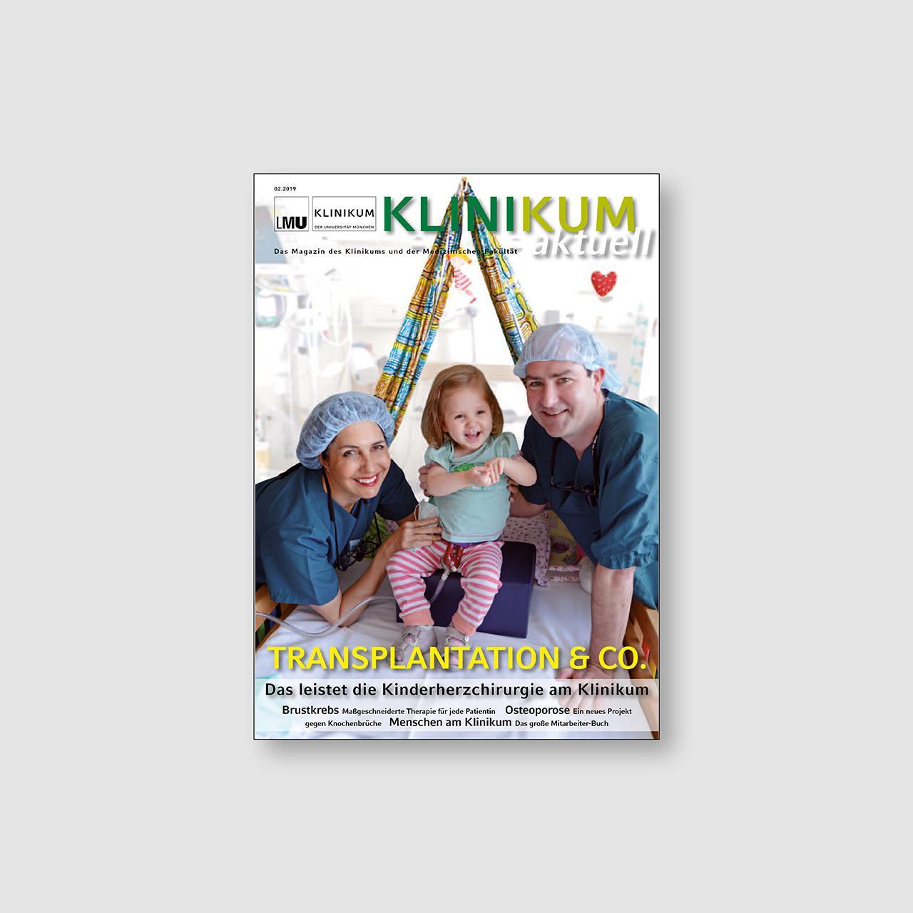 Klinikum aktuell Ausgabe 2/2019