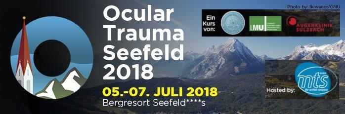 Veranstaltungsplakat ocular trauma seefeld 2018v2