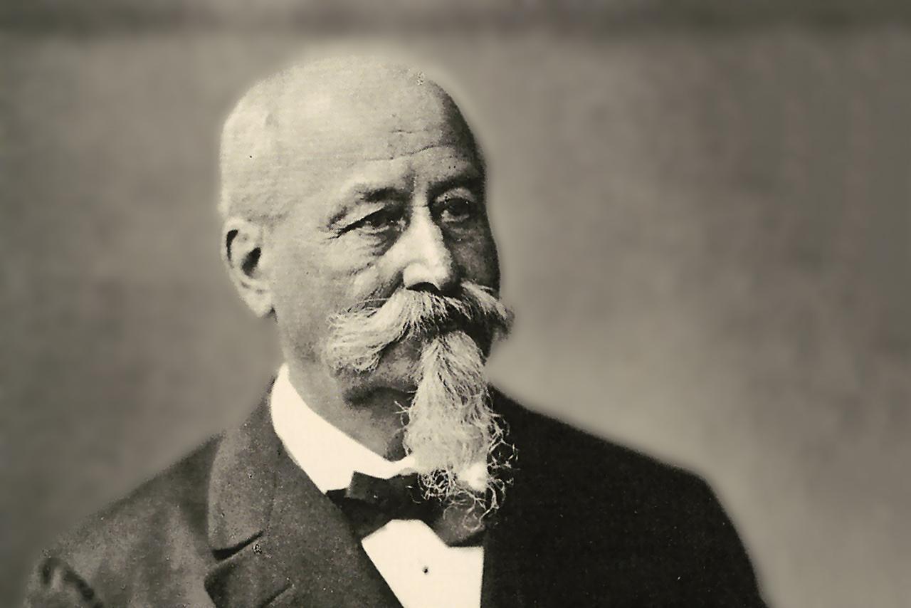 Dr. August von Hauner, Gründer des nach ihm benannten Kindersptals