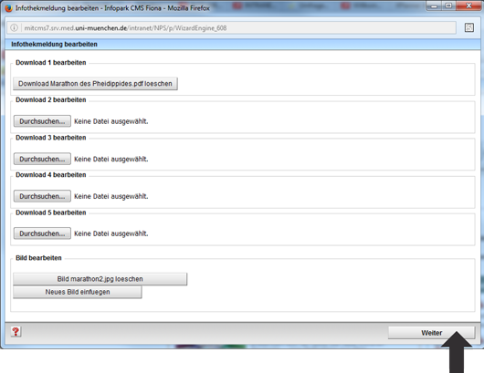 Infothek Eingabeassistent Download Bild ändern
