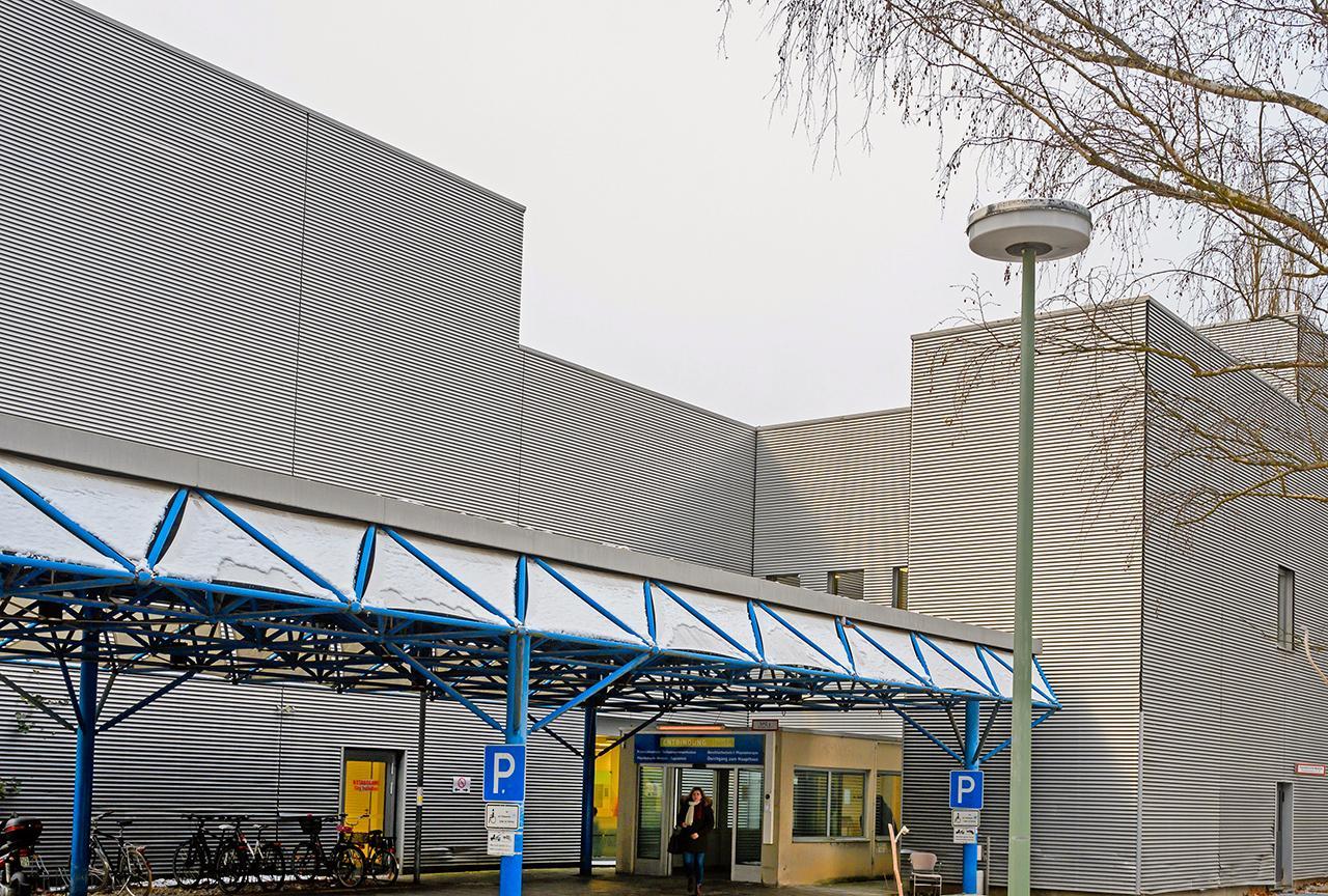 LMU Klinikum München: Die Geburtshilfe und Entbindung am Campus Großhadern befinden sich in einem eigens neu eingerichteten Bereich am westlichen Campusareal.