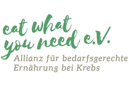 """""""eat what you need""""-Logo"""