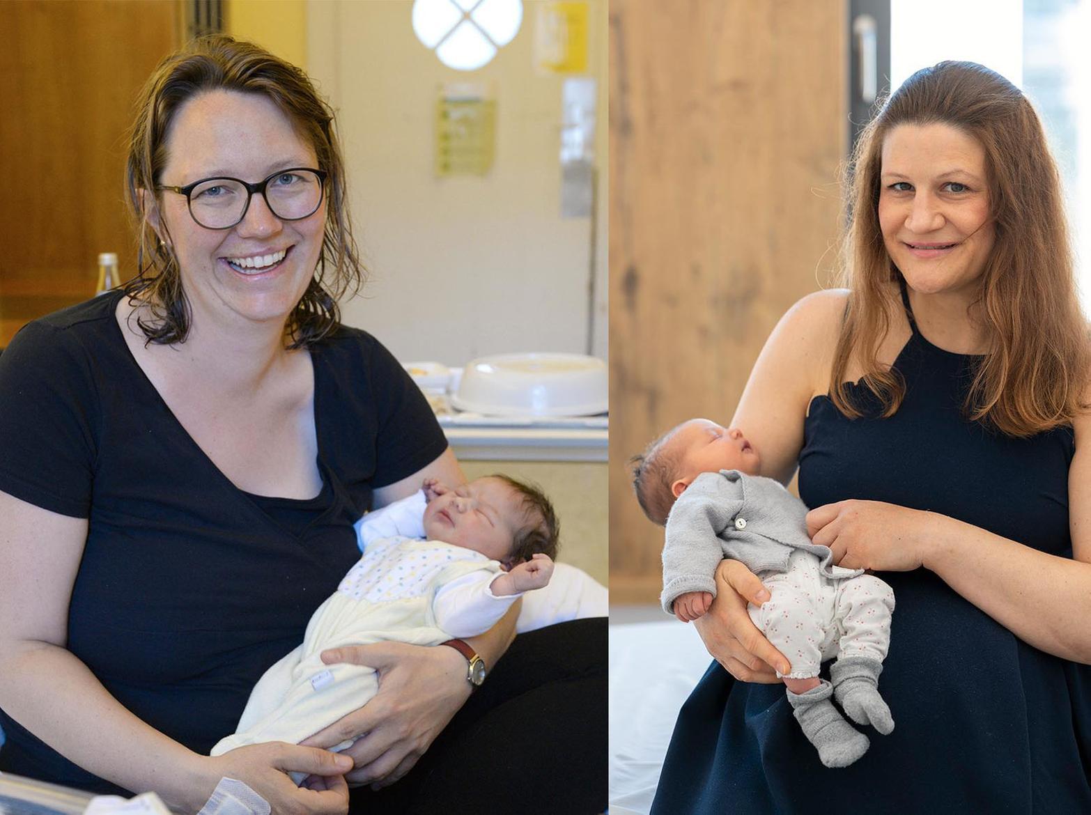 Letzte Geburt in der Maistraße und erste Geburt im neuen Klinikum Innenstadt