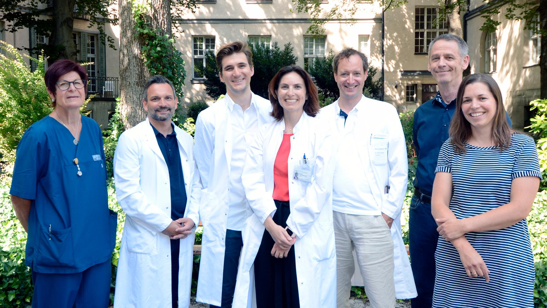 Gruppenaufnahme HIV Team der LMU Frauenklinik
