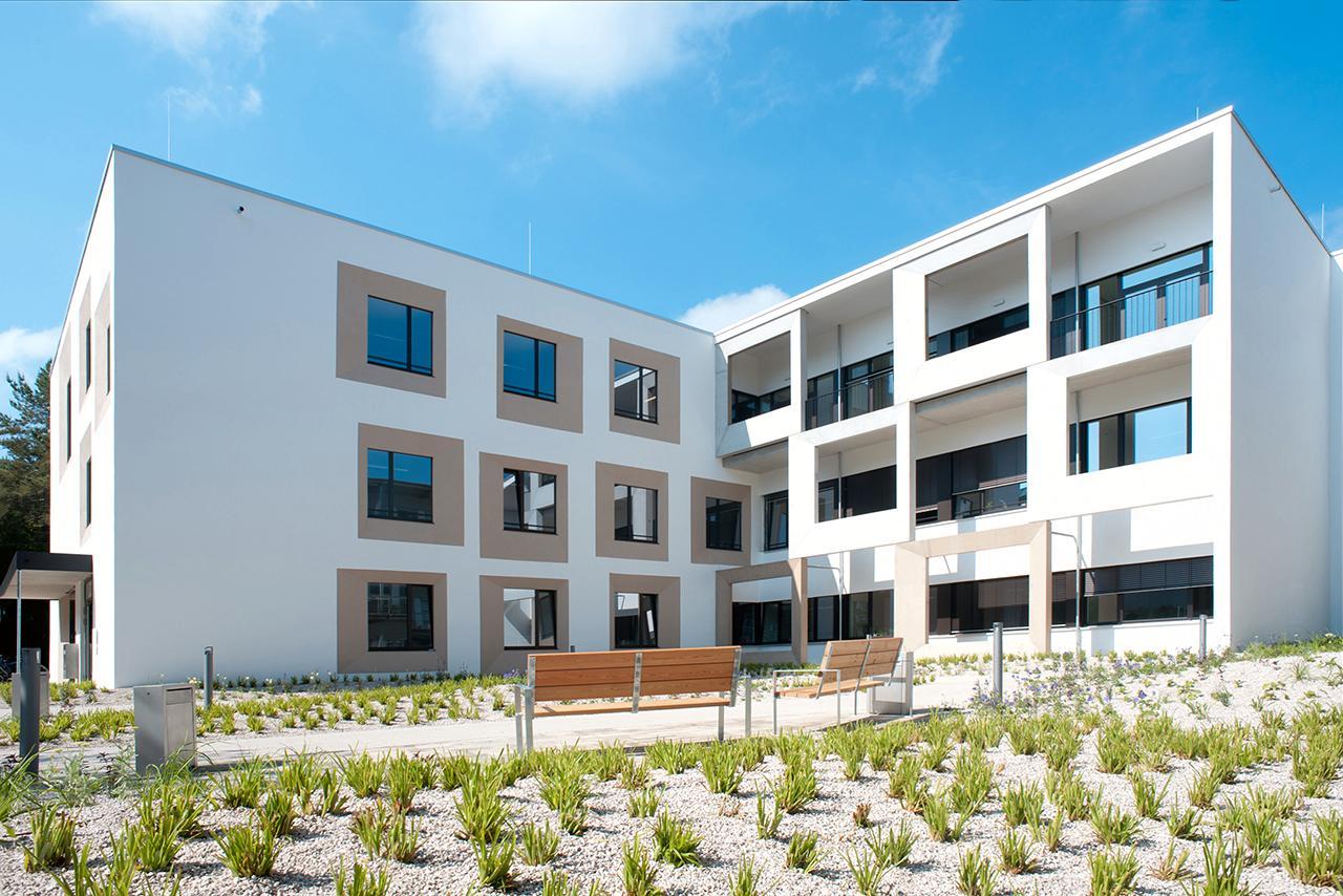 LMU Klinikum: Das Kinderpalliativzentrum der Kinderklinik befindet sich in einem eigenen Gebäude auf dem Campus Großhadern