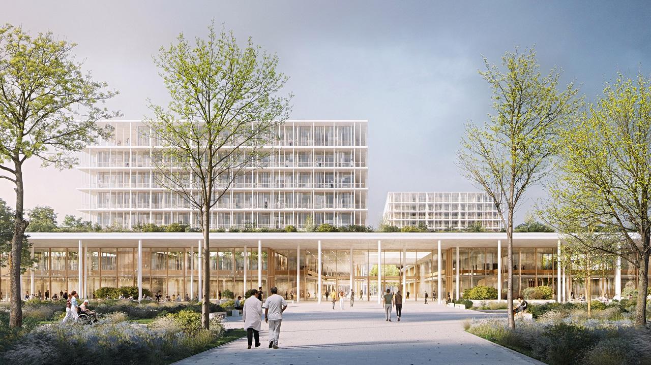 Perspektive Außenraum von LUDES Architekten-Ingenieure GmbH München