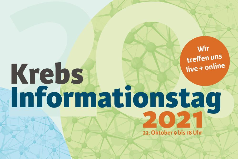 Logo  Krebs-Informationstag 2021