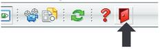 WCMS-Autorensystem Abmelde-Button
