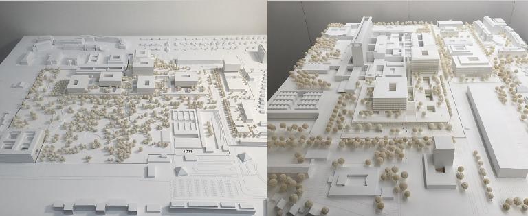 Architekturmodell von LUDES Architekten-Ingenieure GmbH München