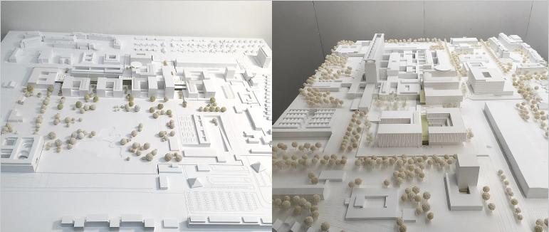 Architekturmodell vonARGE HENN | C.F. Møller München/Aarhus