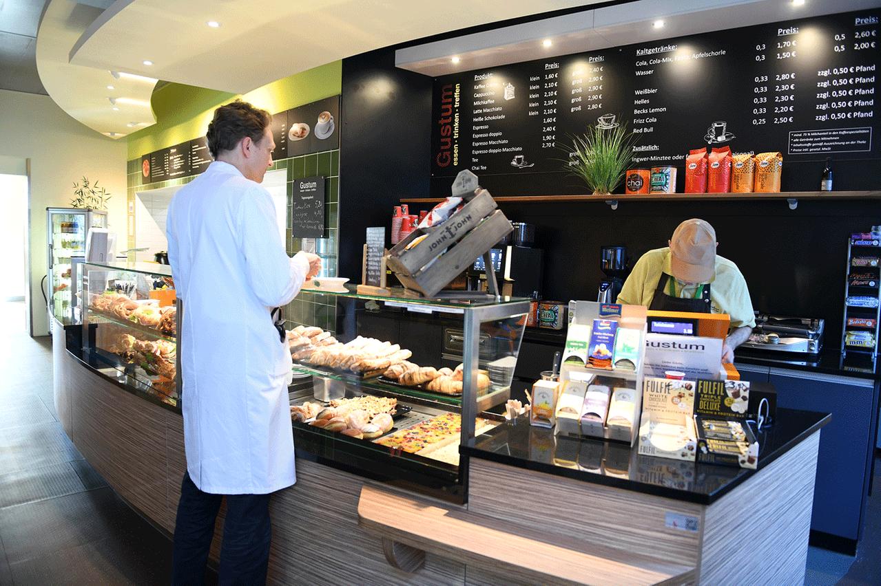 Cafe Gustum Klinikum Großhadern