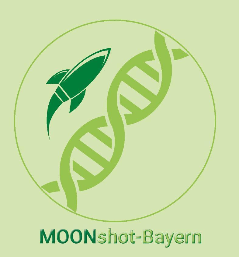 Logo: MOONshot Bayern – Molekular-Onkologisches-Netzwerk Bayern