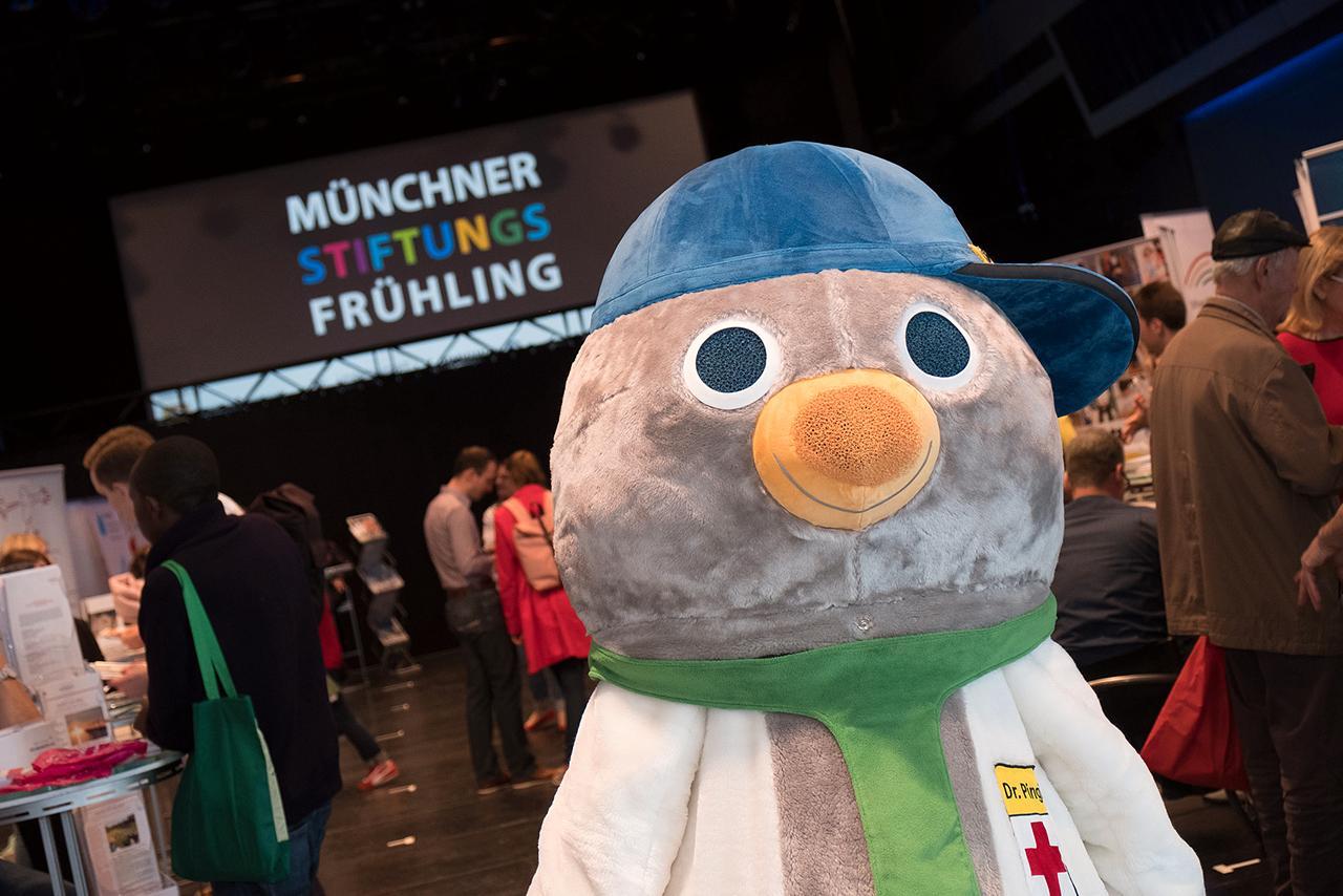 Dr. Pingi beim Münchner Stiftungsfrühling 2019
