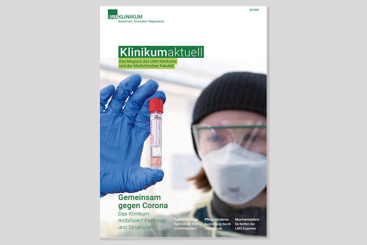Titelseite Patienmagazin KLINIKUM aktuell 2/2020