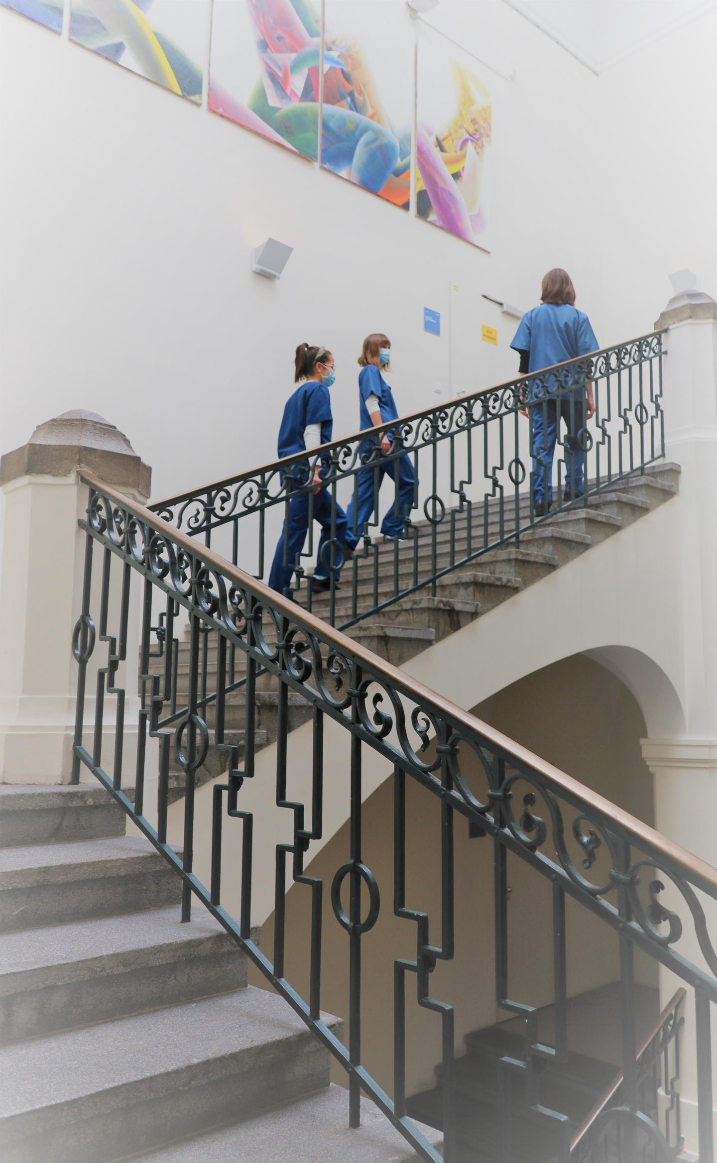 Treppenhaus der Psychiatrie