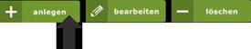 Button Eingabeassistent Infothek / Veranstaltung anlegen