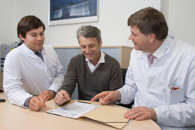 Augennetz suedbayern ansb klinikum uni muenchen patientengespraech