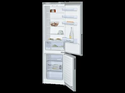 Bosch Kühl-Gefrierkombi mit offenen Türen