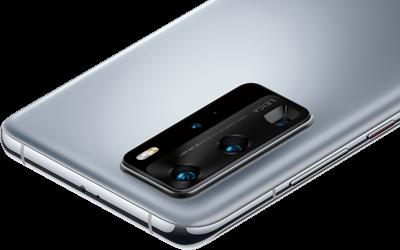 Rückseite des Huawei P40 Pro mit Kamera