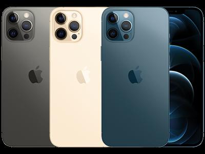 Apple iPhone 12 Pro Max in 3 verschiedenen Farben