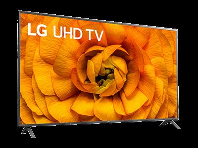 LG Fernseher schräg
