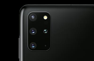 Samsung Galaxy S20+ angeschnitten
