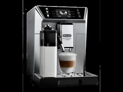 Delonghi Kaffeevollautomat und Latte Macchiato