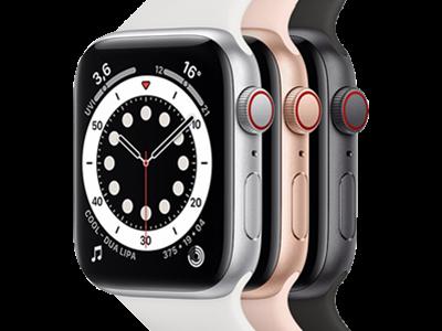 Apple Watch SE in 3 verschiedenen Farben