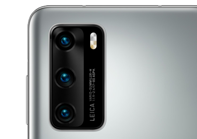 Huawei P40 silber Kamera