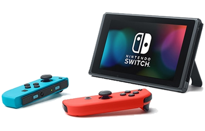 Nintendo Switch New Edition im Tisch-Modus