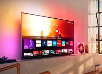 Philips TV mit Ambilight
