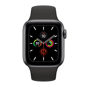 Apple Watch Series 5 Schwarz