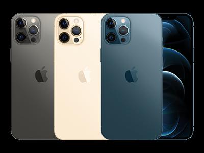 Apple iPhone 12 Pro in 3 verschiedenen Farben