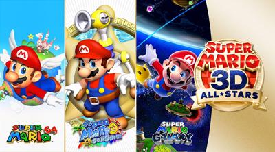 Super Mario 3D All Stars Spielesammlung
