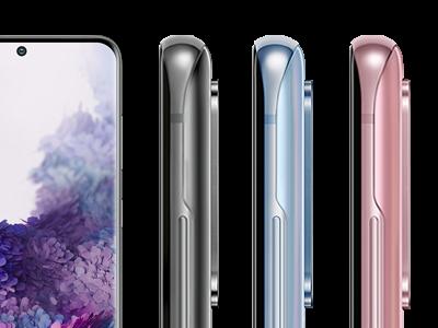 Samsung Galaxy S20 in allen Farben