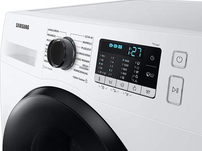 Menü des Samsung Waschtrockners